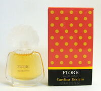 CAROLINA HERRERA FLORE EAU DE PARFUM 4 ml. 0.13 fl.oz. mini perfume NEW IN BOX