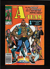 """1984   1st ISSUE  """" THE A - TEAM """"  MARVEL   COMIC BOOK  U - GRADE !"""