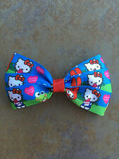Hello Kitty Bow with Alligator Clip