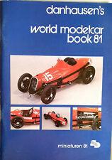 KATALOG PAULS MODELART MINICHAMPS DANHAUSEN'S WORLD MODELCARS BOOK 1981