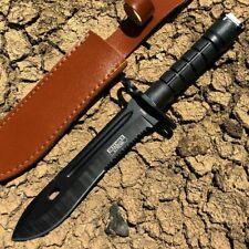 M-Tech 20-53SW Cinza Boot /& Faca de lâmina fixa Bainha de cinto