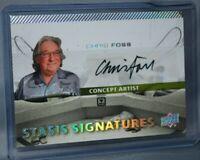 2017 Upper Deck Alien Movie Single Actor Autographs #SSS7 Chris Foss Signatures