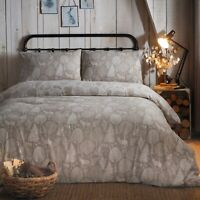 Fusion WINTER FOREST Duvet Cover Set Brushed Cotton Flannelette Winter Bed Linen