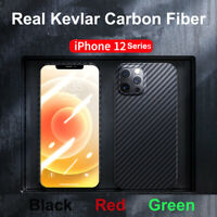 Real Original Genuine Carbon Fiber Case Ultra Slim Cover F iPhone 11 12 Pro Max