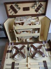 """Art Deco Brexton """"Bandalasta"""" Picnic Set c 1928 VW CamperClassic Car/ Goodwood!"""