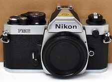 *** EXC ++  *** Nikon FM2N 35mm Chrome Camera Body W/ Titanium Shutter