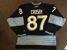 SIDNEY CROSBY PITTSBURGH PENGUINS 2011 WINTER CLASSIC SIGNED HOCKEY JERSEY JSA
