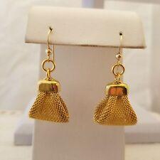 Gold Filled Purse Hook Earrings