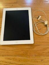 "iPad 2 16GB White 9.7""  A1395 (WiFi) unlocked"