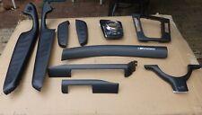BMW E46 Sedan/Coupe/Convertible Interior Dash Trim Set Carbon Fiber--TEN Pieces!
