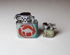 Lot of 2 - Vintage Camel Flip Top and Miniature San Francisco Souvenir Lighters.