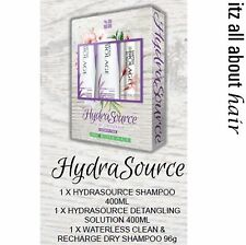 Matrix Biolage Hydrasource Shampoo, DetanglingSolution, Dry Shampo TrioXMAS Pack