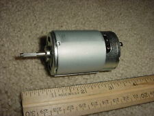 Small DC Electric Motor 12- 24 VDC 8100 RPM 200 ma M92