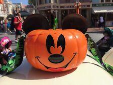 Disney Parks MICKEY PUMPKIN Popcorn Bucket HALLOWEEN 2017 Exclusive NOT SO SCARY