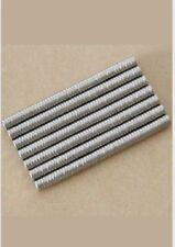 100pcs Neodymium Disc Mini 3X1.5mm Rare Earth N35 Strong Magnets Craft Models
