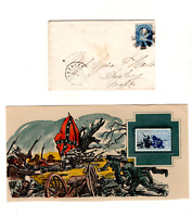 FIRST DAY GETTYSBURG,CIVIL WAR ERA COVER,JULY 1 1863 CANCEL,BROOKLYN NY TO MASS.