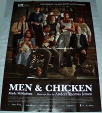MEN & CHiCKEN  Mads Mikkelsen Denmark David Dencik LARGE French POSTER