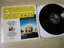 COBRA VERDE POPOL VUH SOUNDTRACK LP VINYL