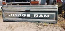 Vintage Dodge Ram Tailgate