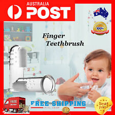 Children Teeth Clear Massage Soft Silicone Baby Finger Toothbrush Brush Items