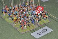 25mm renaissance / generic - infantry 32 figures - inf (21157)