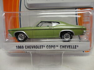Greenlight 1969 CHEVY COPO CHEVELLE Green '69 w/RR Real Rubber GL MUSCLE