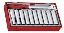 "Teng Tools TT1211 11 Piece 1/2"" Drive Deep Socket Set"