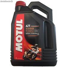 MOTUL Huile lubrifiante 4T 7100 10W60 4T 4L