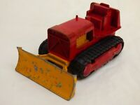 Matchbox Lesney K17 King Size Case Tractor Red Toy Taylor Woodrow Bulldozer