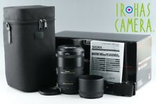 Sigma EX 105mm F/2.8 HSM DG OS Macro Lens for Nikon With Box #13263
