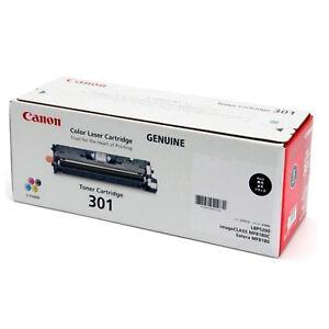 Original Canon 301 BLACK Laser Printer Toner Cartridge LBP5200 MF8180 imageCLASS