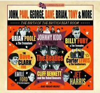 John Paul George Dave Brian Tony and More  The Birth Of British Beat Boom [CD]