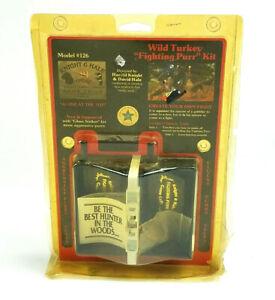 Knight & Hale Model #126 Wild Turkey Fighting Purr Kit With Cassette