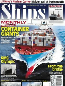 Ships Monthly Magazine Container Giants RMS Olympic US Navy Nuclear Carrier 2011