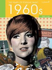 100 ans de musique populaire années 60 vol 1 pop piano voix guitare Faber music book