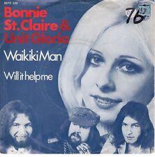 7inch BONNIE ST, CLAIRE waikiki man HOLLAND 1973 EX / VG+ (S0503)