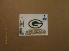NFL Green Bay Packers Super Bowl XLV Champions ReUsable Static Cling Decal