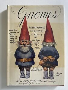 Gnomes Hardcover 1977 Book By Rien Poortvliet / Huygen Harry Abrams Collectible