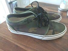 Vans 106 Vulcanized Jungle Camo Low Men's Shoes - Size 11 - Barely worn!