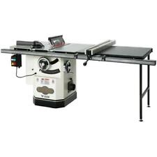 """W1820—10"""" 3 HP Cabinet Table Saw with Riving Knife and Long Rails-Free Shipping"""