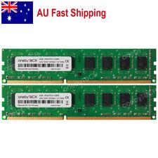AU 8GB 2x4GB  DDR3-1600Mhz PC3-12800 240pin DIMM Low Density Desktop Memory RAM