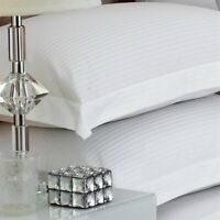 Great Knot Luxury 100% Egyptian Cotton Premium Sateen Stripe TC500 Pillow cases