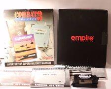 "RARE Combat 3 combat/campagne/historyline 1914/1918 IBM PC 3.5"" big box jeu"