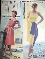 """* EVA N°24/ 9/GIU/1951 * Rivista per la donna italiana diretta da """" Sonia """" *"""