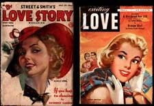 LOVE STORY Keep Dancing & Exciting LOVE Dream Girl PULP Mags. Lovely Covers 1938