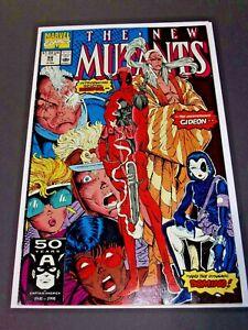 New Mutants #98 1st Appearance of Deadpool Great Key High Grade Marvel Beauty!
