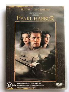 PEARL HARBOR Ben Affleck, Josh Hartnett, Kate Beckinsale 2 DVD DISC SET