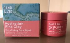 SAND and SKY Australian Pink Clay Face Mask BNIB 60g