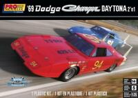 Revell 69 Dodge Charger Daytona 2 in 1 1:25 scale model car kit new 4413