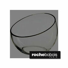 "Collectible authentic Roche Bobois signed glass globe vase 15"" terrarium"